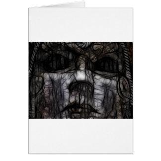 33 - Obscuro manchado de tinta Tarjetas