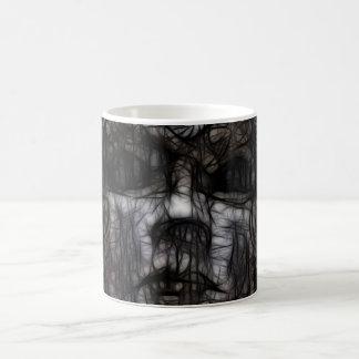 33 - Obscuro manchado de tinta Taza Clásica