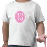 #33 Pink Circle T Shirts