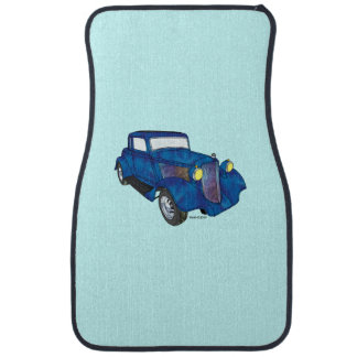 33 Plymouth 5 Window Coupe Car Floor Mat