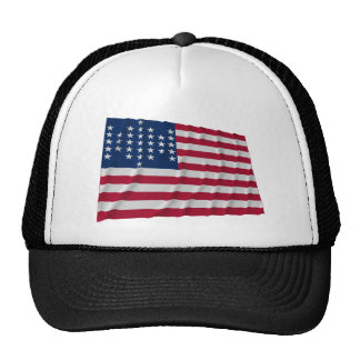 33-star flag, Fort Sumter garrison pattern Trucker Hat