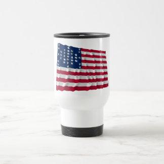 33-star flag Fort Sumter storm pattern Coffee Mug