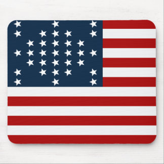 33 Star Fort Sumter American Civil War Flag Mouse Pad
