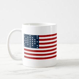 33 Star Fort Sumter American Civil War Flag Coffee Mug