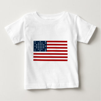 33 Star Fort Sumter American Civil War Flag Tee Shirt