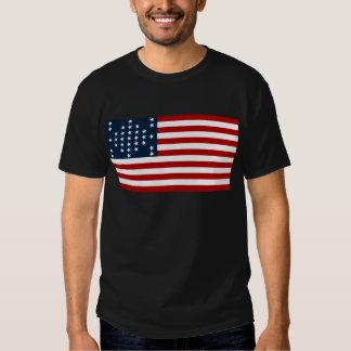 33 Star Fort Sumter American Civil War Flag Tshirt