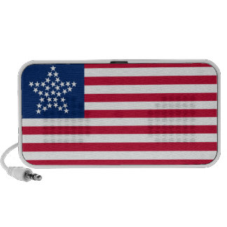 33 Star Great Star Oregon State American Flag iPhone Speaker