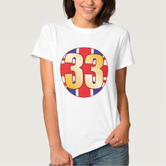 33 UK Gold T-shirt
