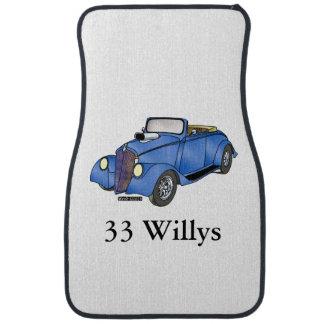 33 Willys Convertible Car Floor Mat