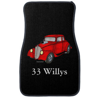 33 Willys Coupe Car Floor Mat