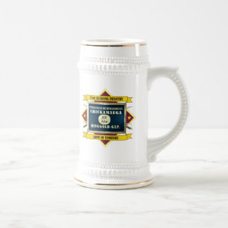 33rd Alabama Infantry (Flags 3) Beer Stein