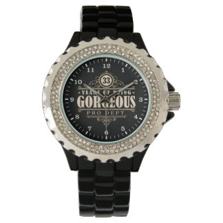 33rd Birthday (33 Years Of Being Gorgeous) Wristwatches