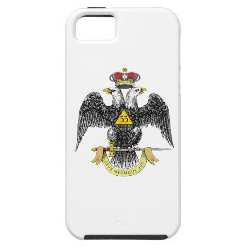 33rd Degree Scottish Rite Black Eagle iPhone 5 Cases