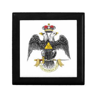 33rd Degree Scottish Rite Black Eagle Gift Boxes
