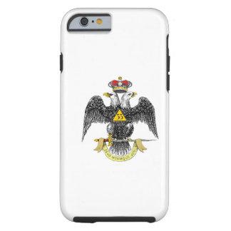 33rd Degree Scottish Rite Black Eagle Tough iPhone 6 Case