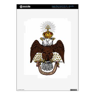 33rd Degree Scottish Rite Brown Eagle iPad 3 Skins