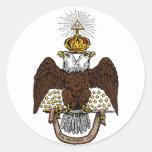 33rd Degree Scottish Rite Brown Eagle Sticker