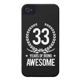 33ro Cumpleaños (33 años de ser impresionantes) Carcasa Para iPhone 4