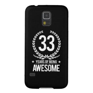 33ro Cumpleaños (33 años de ser impresionantes) Funda Para Galaxy S5