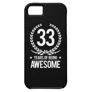 33ro Cumpleaños (33 años de ser impresionantes) Funda Para iPhone SE/5/5s