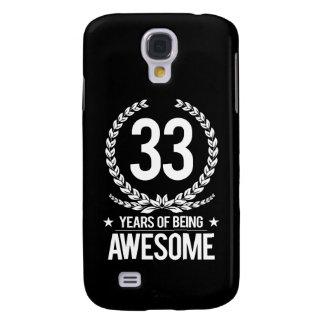 33ro Cumpleaños (33 años de ser impresionantes) Funda Samsung S4