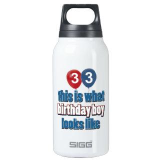 33ro diseños años del cumpleaños