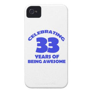 33ro diseños de los años funda para iPhone 4