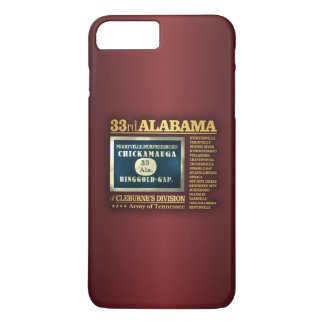 33ro Infantería de Alabama (BA2) Funda iPhone 7 Plus