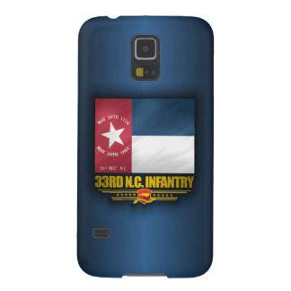 33ro Infantería de Carolina del Norte Carcasa Galaxy S5