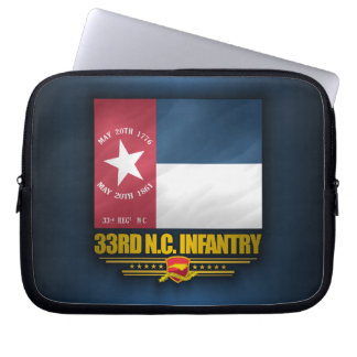 33ro Infantería de Carolina del Norte Funda Ordendadores
