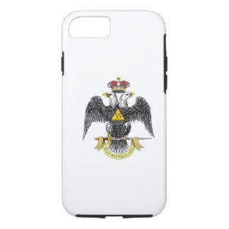 33ro Negro escocés Eagle del rito del grado Funda iPhone 7