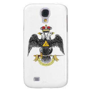 33ro Negro escocés Eagle del rito del grado Funda Para Galaxy S4