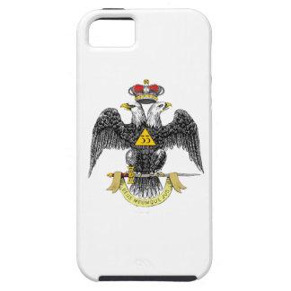 33ro Negro escocés Eagle del rito del grado Funda Para iPhone SE/5/5s