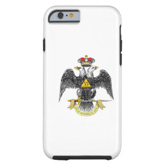33ro Negro escocés Eagle del rito del grado Funda Resistente iPhone 6