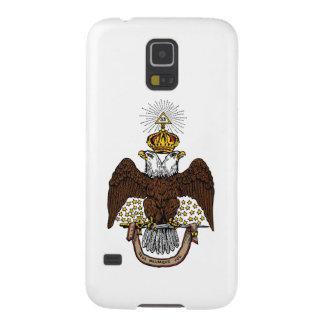 33ro Rito escocés Brown Eagle del grado Fundas Para Galaxy S5