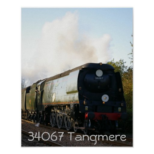 "34067"" Tangmere "" Póster"