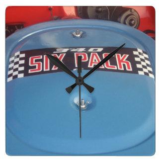 340 Six Pack Decal on a Dodge Dart Swinger Clock