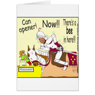 341 bee in here Cartoon Card