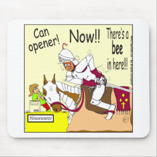341 bee in here Cartoon Mouse Pad