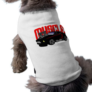 341 Cartoon Muscle Car Tee