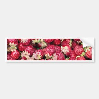 3422-Strawberries.jpg Pegatina Para Auto