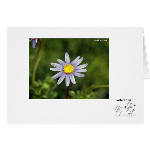 34243-Clipart-Illustration-Of-A-Cute-Stick-Girl… Tarjeta De Felicitación