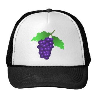 34298 purple blue food fruit wine grapes digital g trucker hat