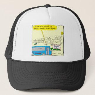 343 Cheeses of nazareth color cartoon Trucker Hat