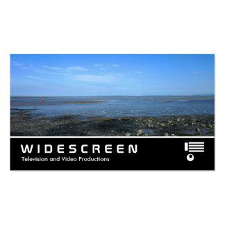 343 con pantalla grande - Estuario de Severn en Pe Tarjetas De Visita