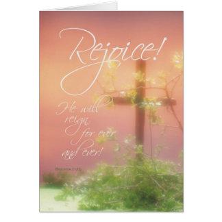 3455 Easter Rejoice Card