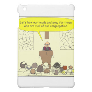 345 Sick of our congregation color cartoon iPad Mini Covers