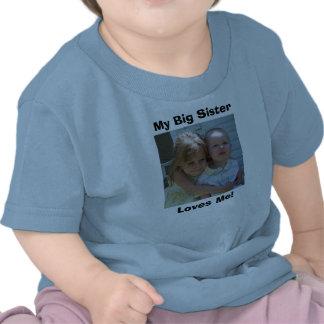 34668328310_0_ALB, My Big Sister, Loves Me! Tshirts