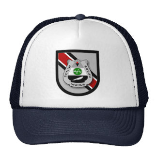 346th Psychological Operations Cmd Airborne flash Trucker Hat