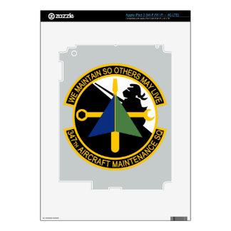 347th Aircraft Maintenance Squadron Skins For iPad 3